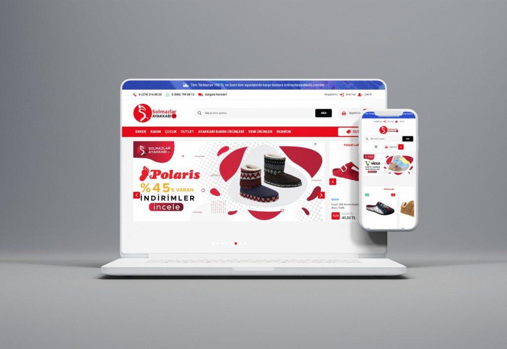 Solmazlar Ayakkabı E- Ticaret Sitesi